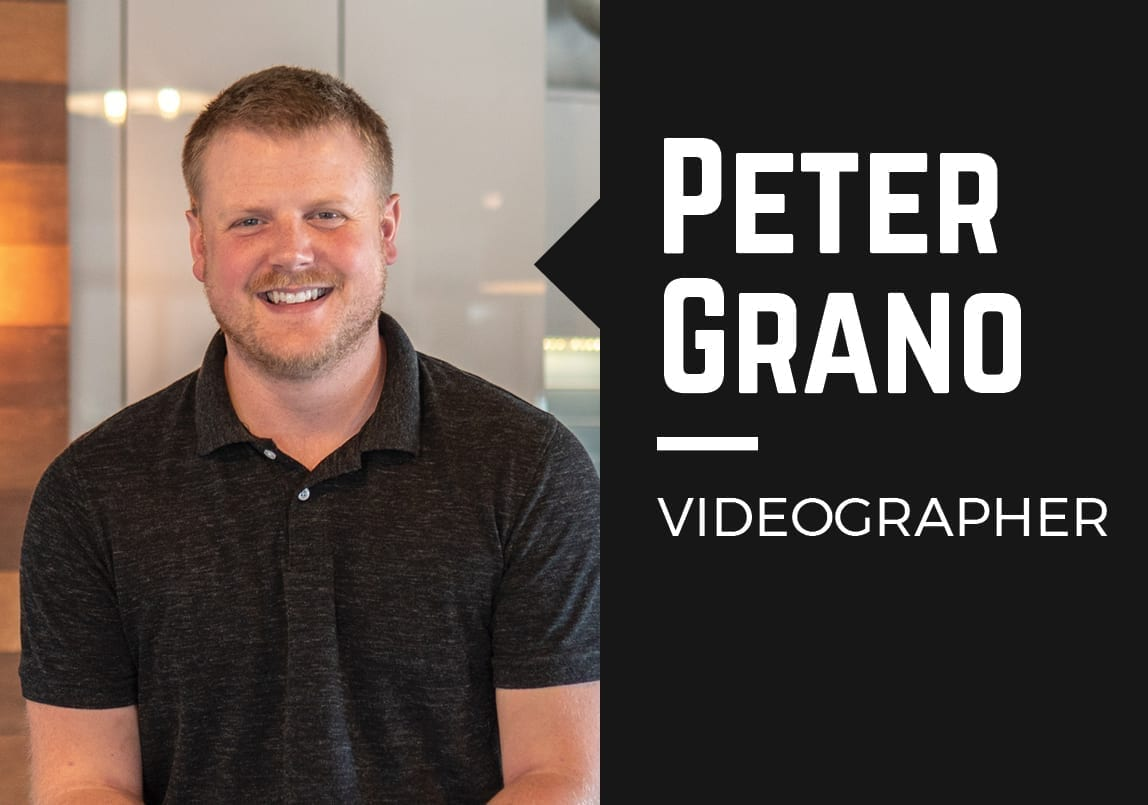 Welcome to the Team, Peter!