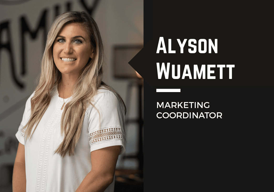 Alyson Wuamett Marketing Coordinator